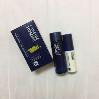 Laneige HOMME - Dual Action Trial Kit