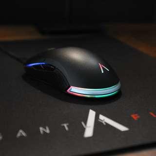 Azio ATOM RGB Gaming Mouse(Pixart PMW3360 6400dpi sensor)