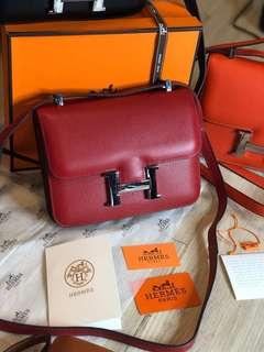 100% Premium Hermes Constance Sling Bag