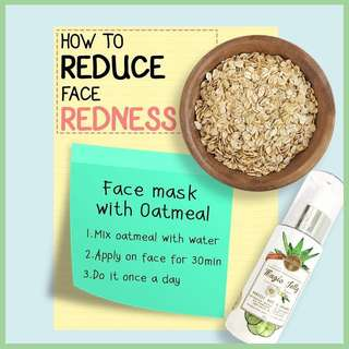 How to reduce face redness