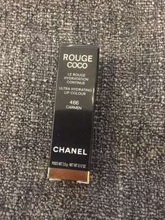 🚚 BNIB Chanel Rouge Coco Ultra Hydrating Lip Colour - 466 Carmen