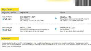 DGT-MNL-DGT ticket
