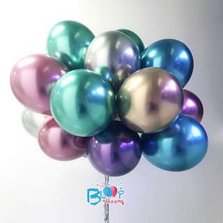 11'' Chrome Balloons - Be different