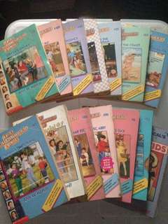 The Babysitters Club (BOOK HAUL - TAKE ALL 15 BOOKS)