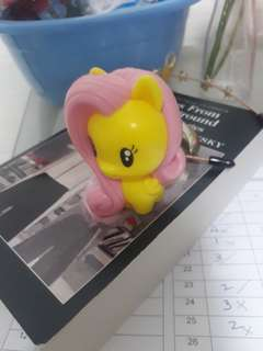 Happy Meal My Little Pony Toy (Without comb)