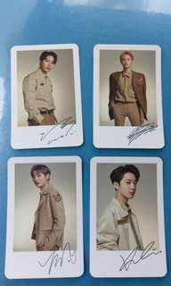 [WTS] Wanna one Official Palaroid