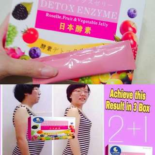 Slimming enzyme jelly