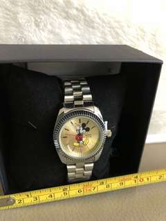 Mickey metal watch