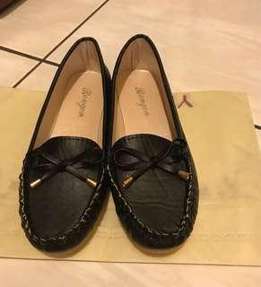 🚚 全新黑色平底娃娃鞋