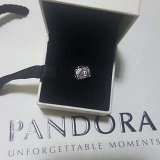 Authentic Pandora Paris suitcase charm