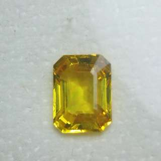 Canary yellow Sapphire. Sri Lankan. PM only interested. Can check stone no obligation to buy,