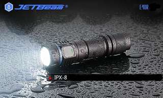 JETBeam 1150LM Strong Flashlight