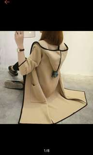 Autumn and Winter Coat Women's Long Sleeve CardigAn Jacket