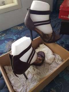 Woman's Shoes Stilletto heels dark brown