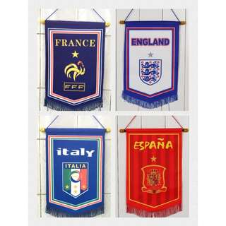 🚚 World Cup and Countries flag / banner limited stock available