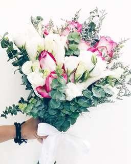 Designer secret garden bridal bouquet WD136