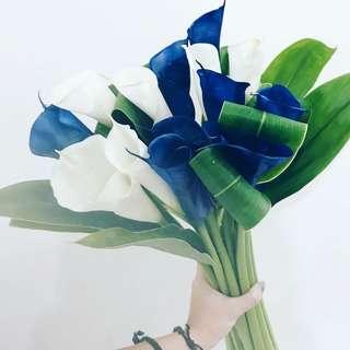 Designer series coastal bridal bouquet WD133