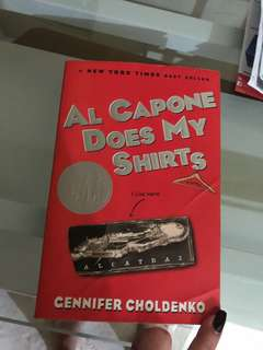 novel al capone does my shirts