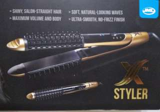 2 in 1 STRAIGHTENER AND CURLER WITH CERAMIC IONIC TECHNOLOGY