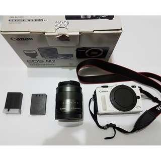 Canon EOS M2 + EF-M 18-55 IS STM (新手入門推薦)