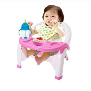 [FREE POSTAGE SM] Detachable tray baby toddler dining seat chair table
