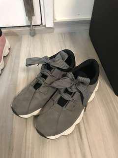 韓風 灰色波鞋