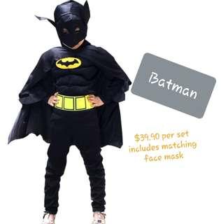 🚚 Batman Party Costume