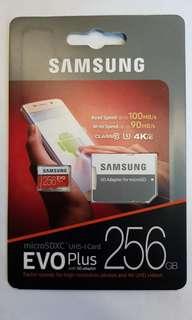 Samsung EVO Plus 256GB Micro SDXC Memory Card