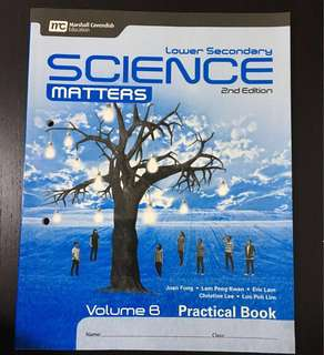 BRAND NEW Volume B Science practical book