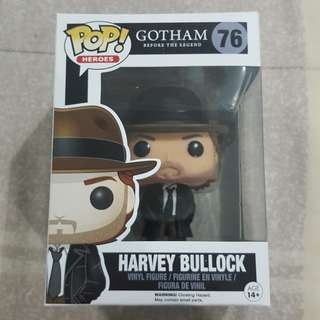 Legit Brand New With Box Funko Pop Heroes Gotham Before The Legend Harvey Bullock Toy Figure
