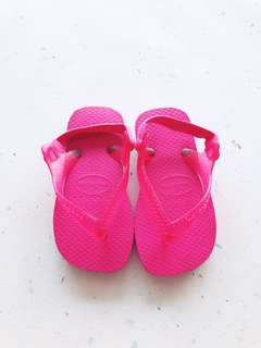Havaianas Baby Pink Slippers