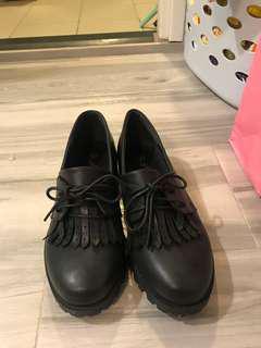 黑 女 斯文返工 紳士鞋