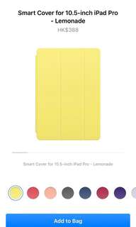 """Smart Cover for 10.5"""" iPad Pro"""