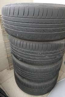 汽車輪胎 Bridgestone infinity原廠