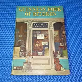 🆒 Vintage 1972 Guiness Book of Records [Hardcover]