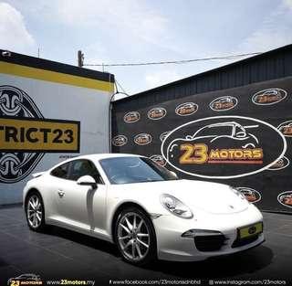 2012 Porsche Carrera 911 3.4