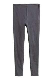 🚚 灰色彈性長褲