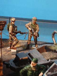 Road to Baghdad - US checkpoint, Gulf War in 1/35 Scale Diorama