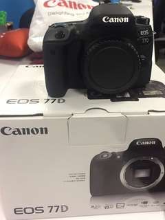 Canon EOS 77D - body only