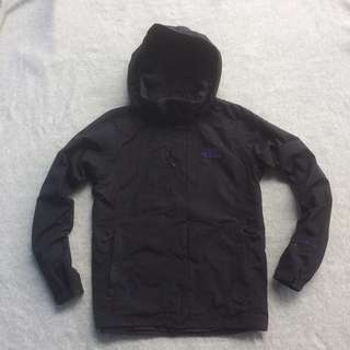 THE NORTH FACE HYVENT JACKET BLACK PURPLE