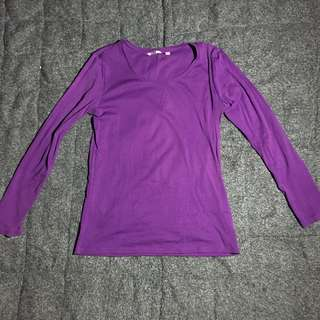Uniqlo Violet Pullover