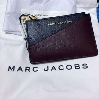 MARC JACOBS TOP ZIP MULTI WALLET/CARDCASE