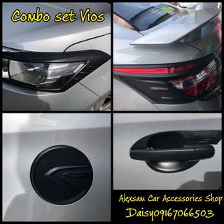 Combo set cover vios
