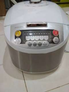 Philips Rice Cooker Digital - HD3038/30