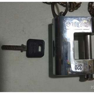Duro Metal Lock Gate