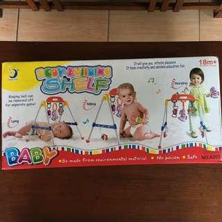 Baby Gym Body Building Shelf Mainan Bayi (Preloved Good Condition)