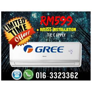 Brand NEW Aircond LIMITED TIME OFFERS !!! GRAB IT NOW !!! KL & SELANGOR