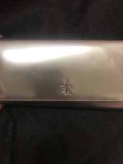 Calvin Klein metallic Woman's long wallet