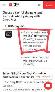 $5 OFF! CAROUPAY ON TRIAL 🔭🔭