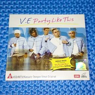 🆕 V.E. - Party Like This [2005] VCD MTV Karaoke